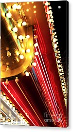 Neon Vegas Acrylic Print by John Rizzuto