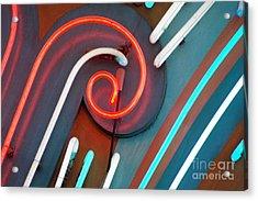 Neonics Acrylic Print by Dan Holm