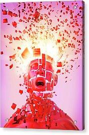 Nervous Breakdown Acrylic Print by Tim Vernon