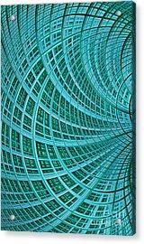 Network Acrylic Print by John Edwards