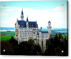 Neuschwanstein Castle  Acrylic Print by The Creative Minds Art and Photography