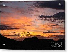 Nevada Sunrise Acrylic Print by Trekkerimages Photography