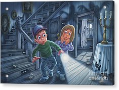 Never Alone Acrylic Print by Phil Wilson