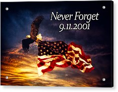 Never Forget  Acrylic Print by Joshua Minso
