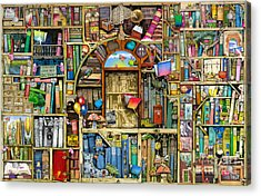 Neverending Stories Acrylic Print by Colin Thompson
