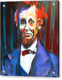 New Abe Acrylic Print by Les Leffingwell