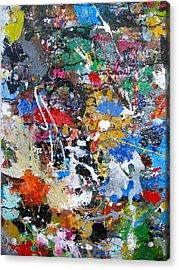 New Abstract Acrylic Print by Melinda Saminski
