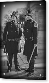 New Age Coppers Acrylic Print by Pic'd by T Photography