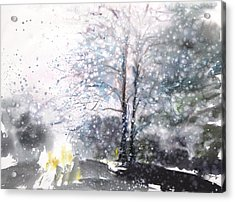 New England Landscape No.222 Acrylic Print by Sumiyo Toribe