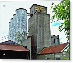 New Micro-brewery Acrylic Print by MJ Olsen