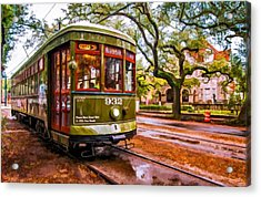 New Orleans Classique Oil Acrylic Print by Steve Harrington