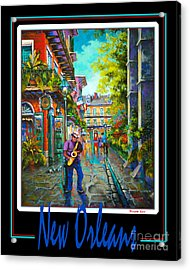 New Orleans Acrylic Print by Dianne Parks