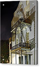 New Orleans Hot Summer Night Acrylic Print by Christine Till