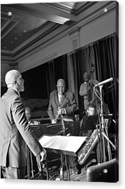 New Orleans Jazz Orchestra Acrylic Print by William Morgan