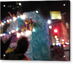 New Orleans - Mardi Gras Parades - 121247 Acrylic Print by DC Photographer