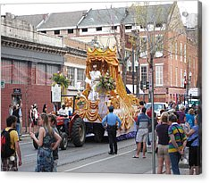 New Orleans - Mardi Gras Parades - 121259 Acrylic Print by DC Photographer