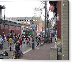 New Orleans - Mardi Gras Parades - 121290 Acrylic Print by DC Photographer