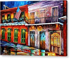 New Orleans' Preservation Hall Acrylic Print by Diane Millsap