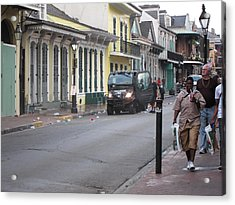 New Orleans - Seen On The Streets - 121252 Acrylic Print by DC Photographer