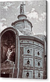 New Orleans - St.louis Cemetery Acrylic Print by Gregory Dyer