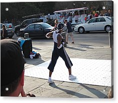 New Orleans - Street Performers - 121219 Acrylic Print by DC Photographer