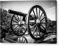 New Orleans Washington Artillery Park Cannon Acrylic Print by Paul Velgos