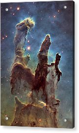 New Pillars Of Creation Hd Tall Acrylic Print by Adam Romanowicz