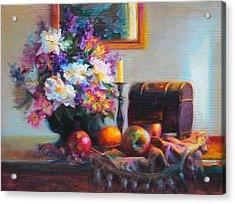 New Reflections Acrylic Print by Talya Johnson