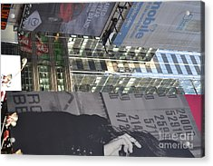 New York City Iv Acrylic Print by Robert Daniels
