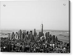 New York City Acrylic Print by Linda Woods