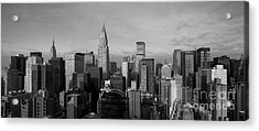 New York City Skyline Acrylic Print by Diane Diederich