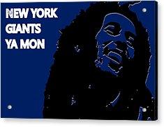 New York Giants Ya Mon Acrylic Print by Joe Hamilton