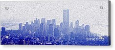 New York Skyline Acrylic Print by Jon Neidert