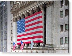 New York Stock Exchange IIi Acrylic Print by Clarence Holmes
