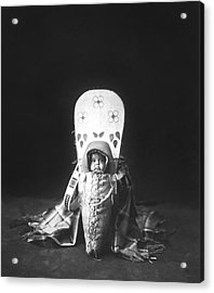 Nez Perce Babe Circa 1899 Acrylic Print by Aged Pixel