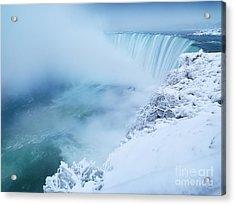 Niagara Falls In Winter Acrylic Print by Oleksiy Maksymenko