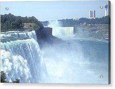 Niagara Falls - New York Acrylic Print by Mike McGlothlen