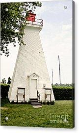 Niagara On The Lake Lighthouse Acrylic Print by Scott Pellegrin