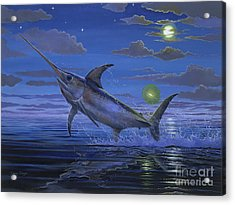 Night Bite Off0066 Acrylic Print by Carey Chen
