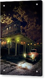 Night Fill Acrylic Print by Nathan Wright
