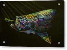 Night Fly Acrylic Print by Yusniel Santos
