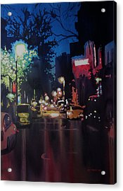 Night Moves  Acrylic Print by Kris Parins
