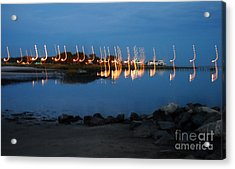 Night Notes Acrylic Print by Skip Willits