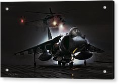 Night Ops Acrylic Print by Peter Chilelli