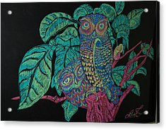 Night Owls Acrylic Print by Lorinda Fore