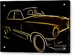 Night Rider Acrylic Print by Cheryl Young