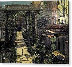 Night Acrylic Print by Terry Reynoldson