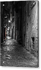 Night-time Acrylic Print by Marion Galt