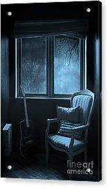 Night Time Story Room Acrylic Print by Svetlana Sewell