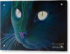 Night Vision Acrylic Print by Brian  Commerford